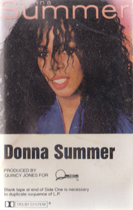 Donna Summer: Self-Titled Cassette Tape