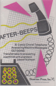 After-Beeps - 6 Comical Musical Answering Machine Messages Cassette Tape