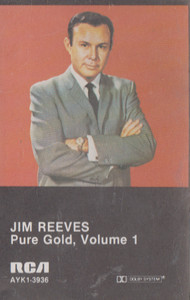 Jim Reeves: Pure Gold - #1 -17271 Cassette Tape