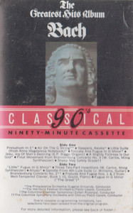 The Bach's Greatest Hits Album -29323 Cassette Tape