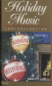 Holiday Music, 1992 Collection - #2 (Winston Collector Album) Cassette Tape