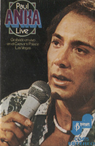 Paul Anka: Live Cassette Tape