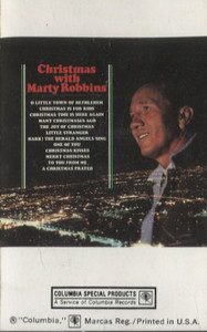 Marty Robbins: Christmas with Marty Robbins Cassette Tape