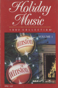 Winston Holiday Music 1992 Collection - #1 Cassette Tape