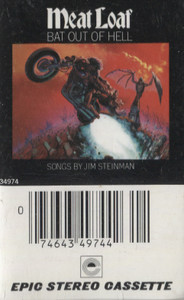 Meat Loaf: Bat Out of Hell -21579 Cassette Tape