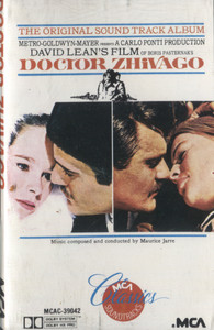 Doctor Zhivago - Original Soundtrack Cassette Tape