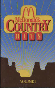 McDonald's Country Hits - #1 -8523 Cassette Tape