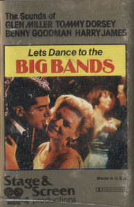 Let's Dance to the Big Bands Cassette Tape