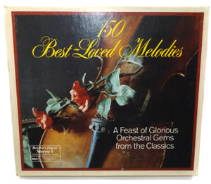 The London Promenade Orchestra: 150 Best-Loved Melodies - 8 Track Tape Box Set