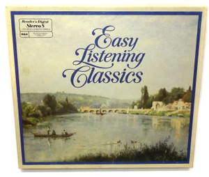 Various Artists: Reader's Digest Easy Listening Classics - 8 Track Tape Box Set