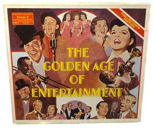 Various Artists: The Golden Age of Entertainment - 8 Track Tape Box Set