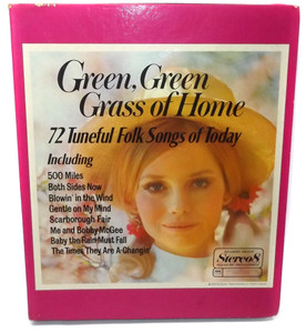 Various Artists: Green, Green Grass of Home Readers Digest 8 Track Tape Box Set