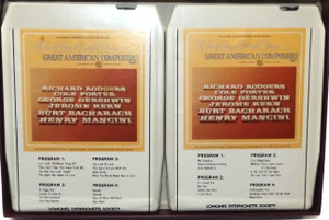 Great American Composers, Part 1 - Longines Symphonette Society 8 Track Tape Box Set