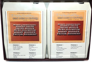 Great American Composers, Part 2 - Longines Symphonette Society 8 Track Tape Box Set