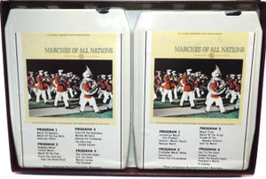 Marches of All Nations - Longines Symphonette Society 8 Track Tape Box Set
