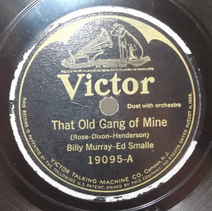 Billy Murray / Ed Smalle: Hi Lee Hi Lo / That Old Gang of Mine - 78 rpm Record