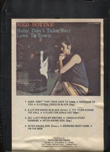 Red Sovine: Ruby Don't Take Your Love to Town - 8 Track Tape