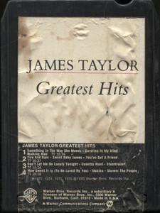 James Taylor: Greatest Hits - 8 Track Tape