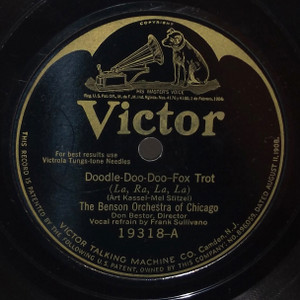 The Benson Orchestra of Chicago: Doodle-Doo-Doo / Back in Hackensack New Jersey  - 78 rpm Record