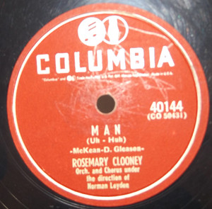 Rosemary Clooney: Man / Jose Ferrer: Woman - 78 rpm Record