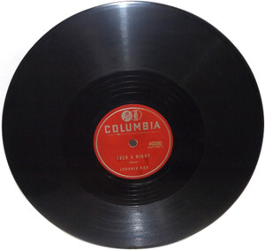 Johnnie Ray: Such a Night / Destiny - 78 rpm Record