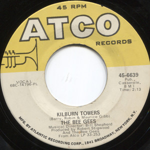 """The Bee Gees: I Started a Joke / Kilburn Towers - 7"""" 45 rpm Vinyl Record"""