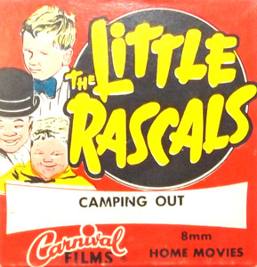 Vintage The Little Rascals Camping Out Carnival Films 8mm Film in Box