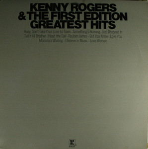 Kenny Rogers & the First Edition: Greatest Hits - LP Vinyl Record Album