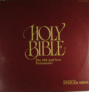 The Statler Brothers: Holy Bible, The Old and New Testaments - LP Vinyl Record Album