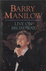 Barry Manilow: Live on Broadway - Audio Cassette Tape