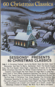 Various Artists: Sessions Presents 60 Christmas Classics - Audio Cassette Tape