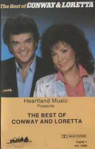 Conway Twitty & Loretta Lynn: The Best of Conway and Loretta, Tape 1 - Audio Cassette Tape