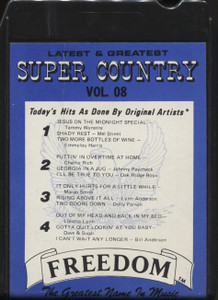 The Soundmasters: Super Country, Volume 8 - 8 Track Tape