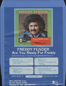 Freddy Fender: Are You Ready for Freddy - 8 Track Tape Cartridge