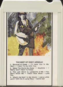 Eddy Arnold: The Best of Eddy Arnold - 8 Track Tape Cartridge