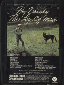 Roy Drusky: This Life of Mine - 8 Track Tape