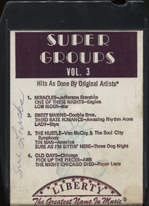 The Odyssey Group: Super Groups, Volume 3 - 8 Track Tape