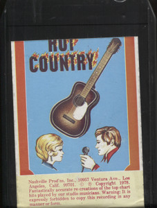 Tribute to Moe Bandy Soft Lights & Hard Country - 8 Track Tape