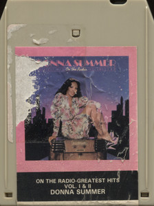 Donna Summer: On the Radio, Greatest Hits, Volumes I & II - 8 Track Tape