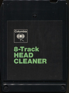Vintage Columbia Head Cleaner 8 Track Tape Player Head Cleaning Cartridge