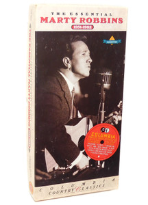 Marty Robbins: The Essential Marty Robbins 1951-1982 -  Audio Cassette Tape Box Set