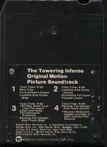 The Towering Inferno, Original Motion Picture Soundtrack - 8 Track Tape