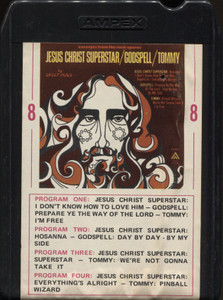 Sweet Peace: Jesus Christ Superstar / Godspell / Tommy - 8 Track Tape