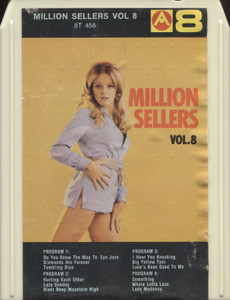 Various Artists: Million Sellers, Volume 8 - 8 Track Tape