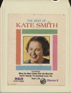 Kate Smith: The Best of Kate Smith - Vintage 8 Track Tape