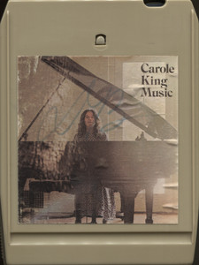 Carole King: Music - 8 Track Tape