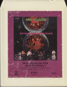 Iron Butterfly: In-A-Gadda-Da-Vida - 8 Track Tape