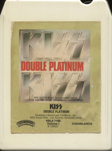 Kiss: Double Platinum, Volume I - Vintage 8 Track Tape
