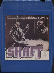 Isaac Hayes: Shaft, Soundtrack - 8 Track Tape