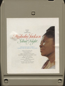 Mahalia Jackson: Silent Night, Songs for Christmas - 8 Track Tape